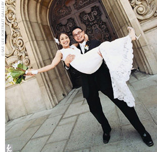 Melanie &amp; Hernani in Pasadena, CA