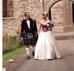 Erin & John in Midlothian, Scotland