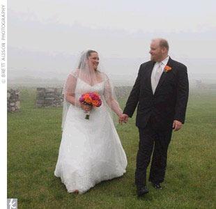 Rebecca & Daniel in Rye, NH