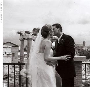 Cheri & Jason in Rome, Italy