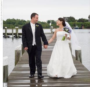 Liz & Jason in Block Island, RI