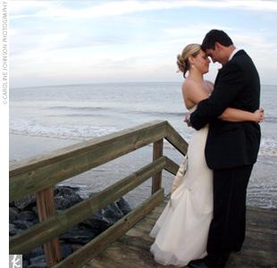 Melissa & Hank in Simons Island, GA