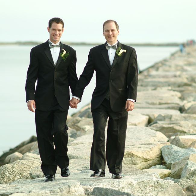 Doug & Dan in Provincetown, MA