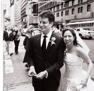 Monica & Jeff in New York, NY