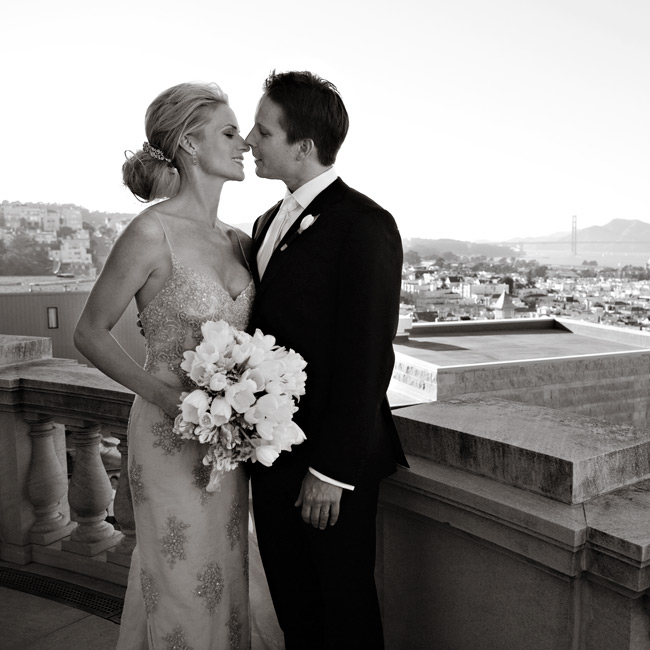 Courtney & Hugh: An Antique Inspired Wedding in San Francisco, CA