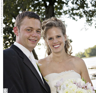 Erin & Bjorn in Balsam Lake, WI