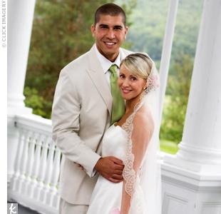 Andrea & Samir in Bretton Woods, NH