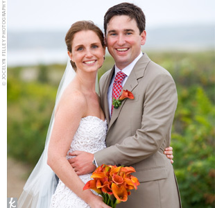 Maura & Patrick in Edgartown, MA