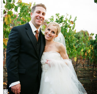 Melanie & Drew in Yountville, CA