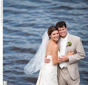 Emily & Brian in Hampton Island, GA