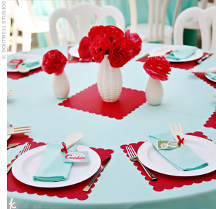 Bridal Shower: A '50s Retro-Themed Bridal Shower