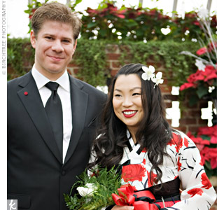 Korean American Wedding Traditions Korean American Wedding in