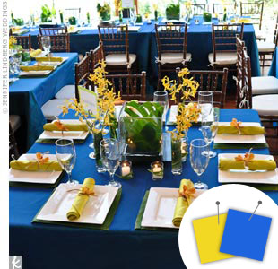 Blue Wedding Color Combos