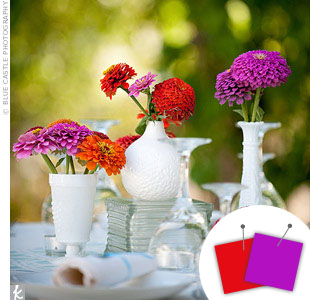 Purple Wedding Color Combos