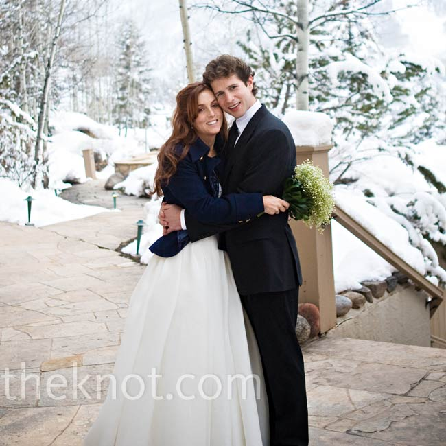 Lindsay & Drew in Beaver Creek, CO