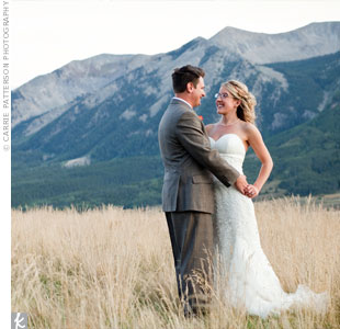 Erin & Aaron in Crested Butte, CO