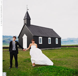 Christina & Mark in Iceland