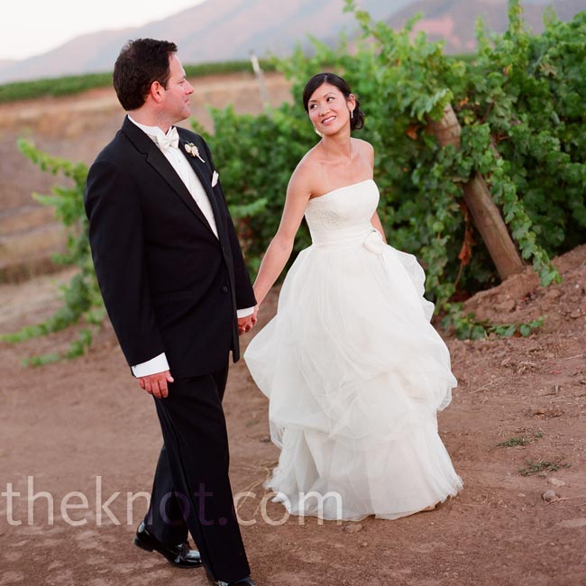 Christine & Michael in Santa Ynez, CA