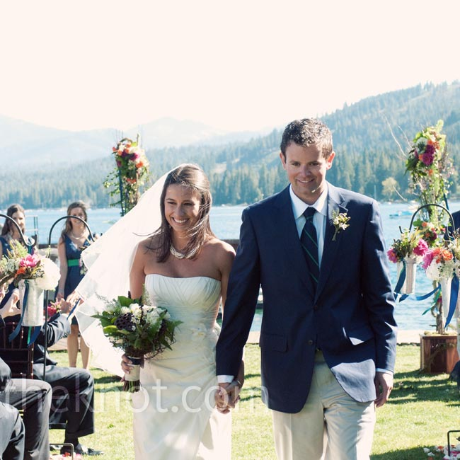 Courtney & Andrew in Lake Tahoe, CA