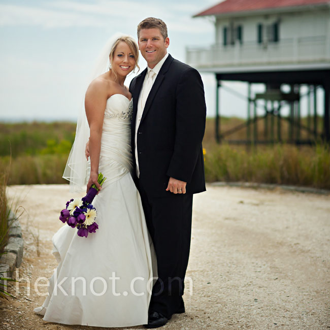 Kylene & Adam  in Cape Charles, VA