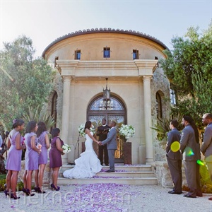 Casual Outdoor Wedding in Malibu, CA