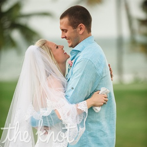 Mary & Brian in Rio Grande, Puerto Rico