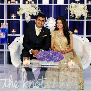 Sarena & Naitik in East Rutherford, NJ
