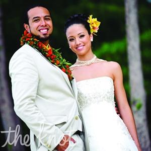 Kayla & Chauncey in Kailua, HI