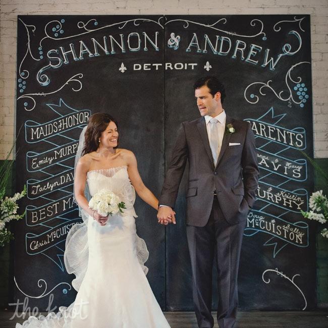 Shannon & Andrew in Detroit, MI