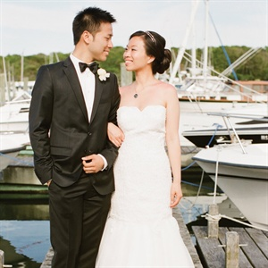 Nina & Hong in Harwich Port, MA