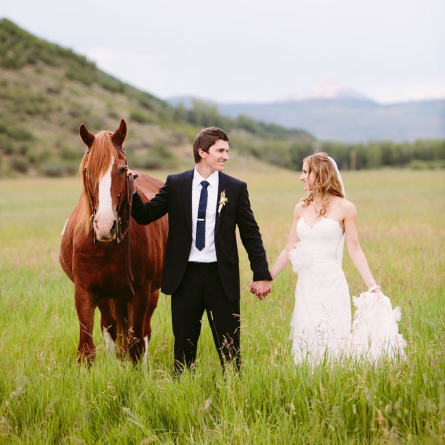 Andrea & Christopher in Steamboat Springs, CO