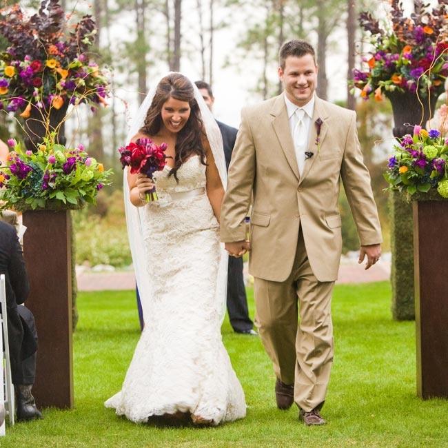 Destin Florida Weddings: An Outdoor Fall Wedding In Destin, FL