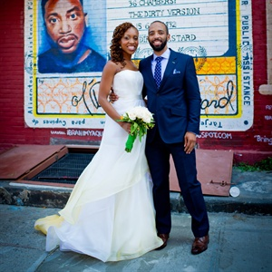 Ndidi & Vincent in Brooklyn, NY
