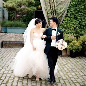 Long Island Wedding Gift Etiquette : Timeless, Elegant Wedding in Long Island City, NY