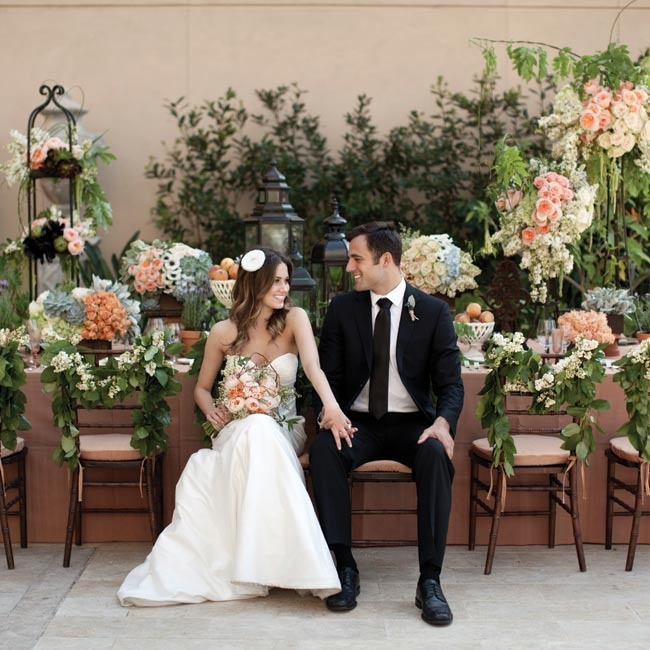 A Romantic, Secret Garden Styled Shoot