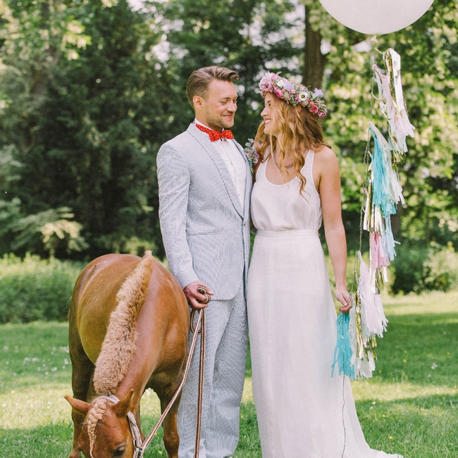 Sequins and Circus Wedding Inspiration
