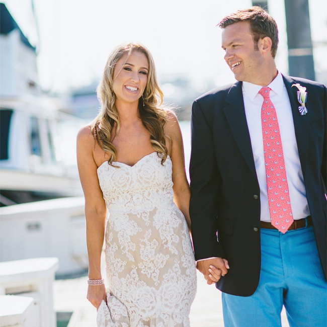Lindsay & John in Newport Beach, CA