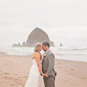 Andrea & Colin in Cannon Beach, OR
