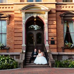 Sarah & Winston in Saratoga Springs, NY