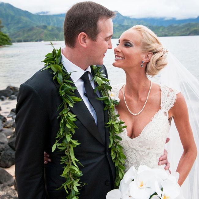 Erica & Derek in Princeville, Kauai, HI