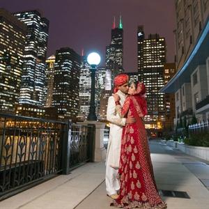 Sonia & Fahad in Downers Grove, Illinois
