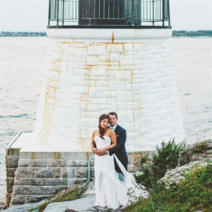 Lisa & Rich in Newport, Rhode Island