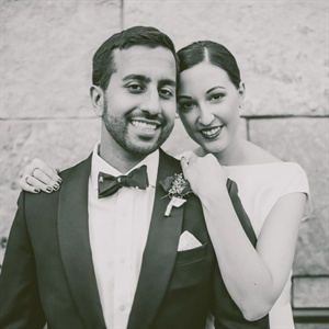 Lindsay & Rishi in Cary, North Carolina