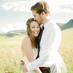 Sarah & Christopher in Cascade, Montana