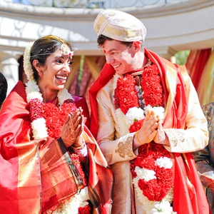 Chithra & Keith in San Mateo, California