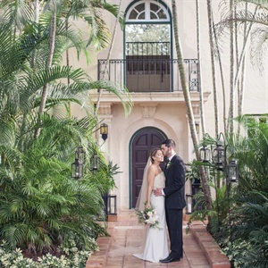 Arielle & Jordan in Coconut Grove, Florida