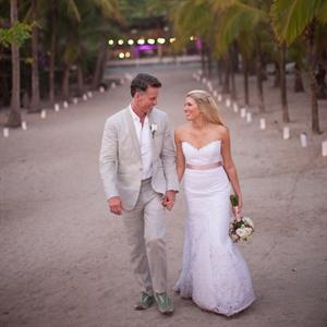Lindsey & Randy in Santa Teresa, Costa Rica