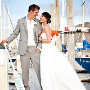 Nautical-Inspired Styled Shoot in Magna, UT