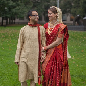 Melissa & Raj in Boston, MA