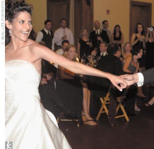 Following the Italian-influenced feast, Staci and Adam opened up the dance floor for a party that kept rocking well into the night.